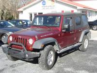 2008 Jeep Wrangler Unlimited 4x4 Rubicon 4dr SUV w/Side Airbag Package