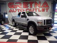 2008 Ford F-250 SD LARIAT 3/4 TON CREW 4X4 AUTO 5.4L LEATHER MOONROOF