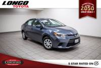 Certified Used 2016 Toyota Corolla Automatic L in El Monte