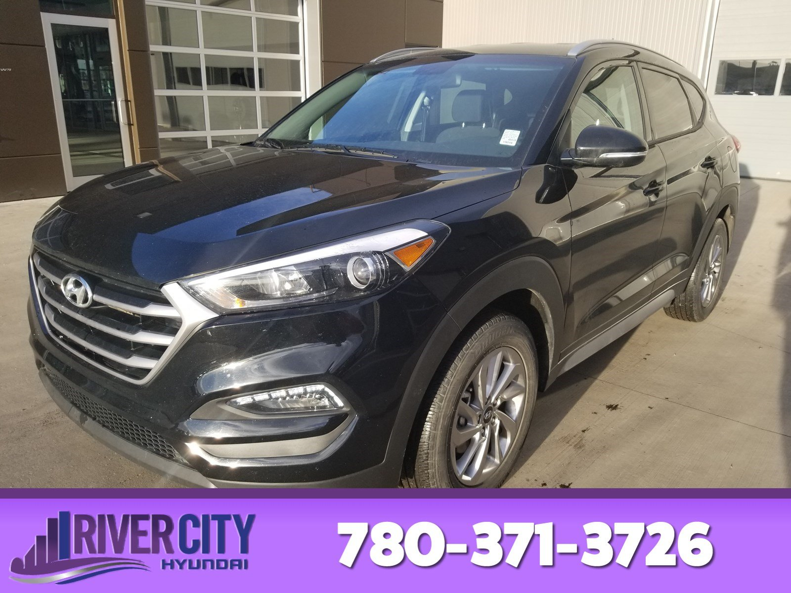 Photo Pre-Owned 2017 Hyundai Tucson AWD GLS Heated Seats, Back-up Cam, Bluetooth, AC,