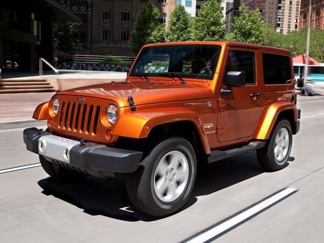 2011 Jeep Wrangler Sahara SUV V6 SMPI