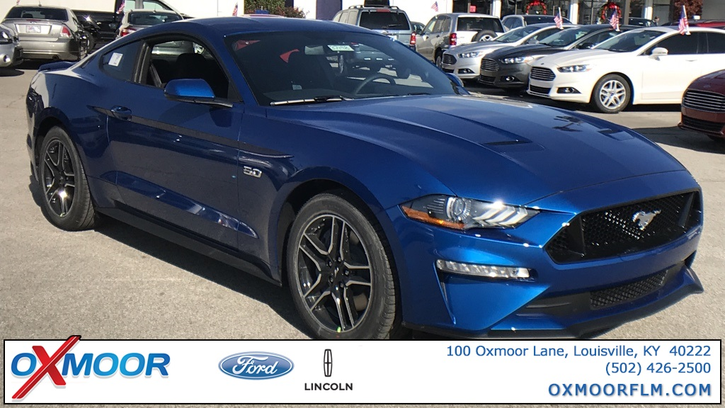 Photo New 2018 Ford Mustang GT RWD 2D Coupe
