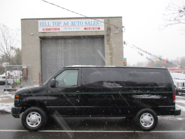 Photo 2009 Ford Econoline Vans E-350 Cargo Van Clean Black Van