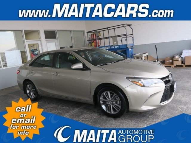 Photo Used 2015 Toyota Camry SE Available in Sacramento CA