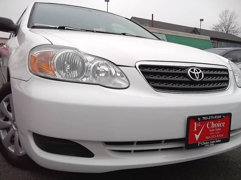 2008 Toyota Corolla CE 4dr Sedan 4A
