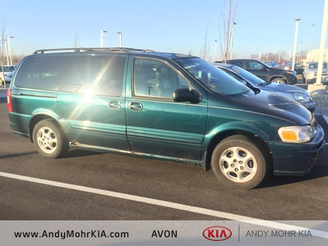 Photo Pre-Owned 2001 Oldsmobile Silhouette GLS FWD 4D Passenger Van