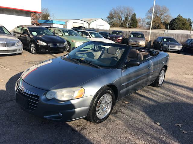 2006 Chrysler Sebring Touring 2dr Convertible