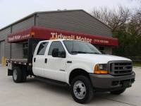 2001 Ford F-450 Crew Cab, 7.3L Diesel, Low Mile, 9' Flatbed