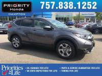Certified 2017 Honda CR-V EX-L SUV in Hampton, VA