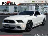 PRE-OWNED 2013 FORD MUSTANG V6 RWD COUPE