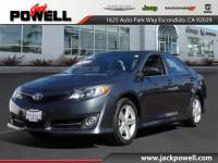 PRE-OWNED 2014 TOYOTA CAMRY FWD SEDAN