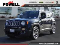CERTIFIED PRE-OWNED 2016 JEEP RENEGADE LATITUDE FWD SUV