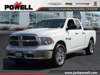 CERTIFIED PRE-OWNED 2016 RAM 1500 BIGHORN FOUR WHEEL DRIVE TRUCK QUAD CAB