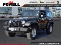 CERTIFIED PRE-OWNED 2015 JEEP WRANGLER SPORT 4WD