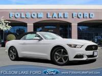 Certified Used 2016 Ford Mustang V6 Convertible 6 For Sale in Folsom