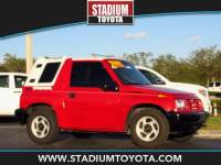 Pre-Owned 1997 Geo Tracker 2dr Convertible 2WD FWD