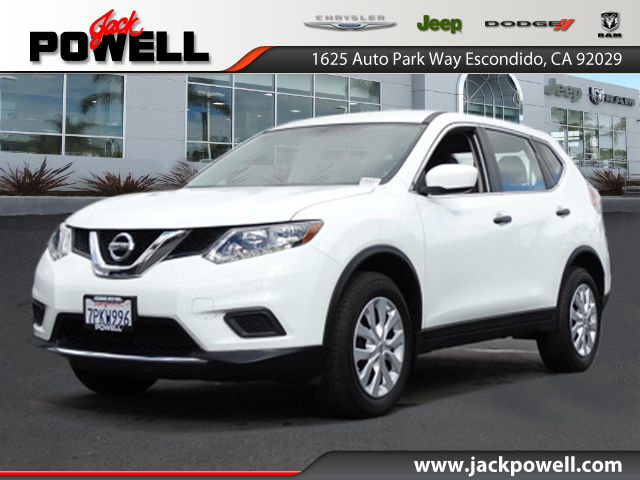 PRE-OWNED 2016 NISSAN ROGUE S FWD SUV