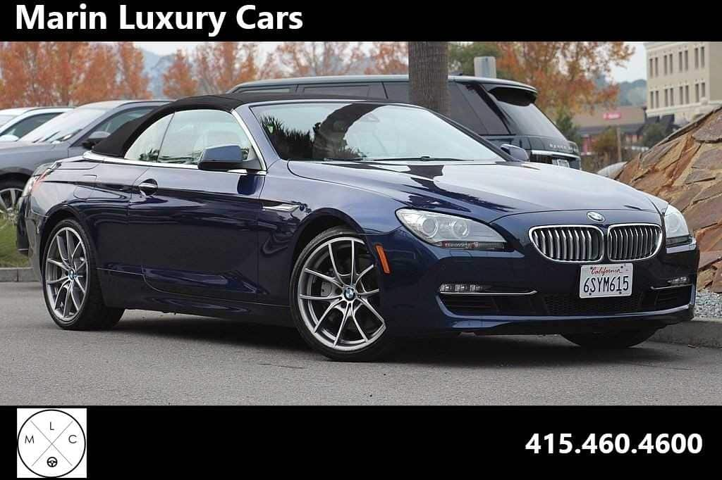 Photo Pre-Owned 2012 BMW 650i Convertible in Corte Madera, CA