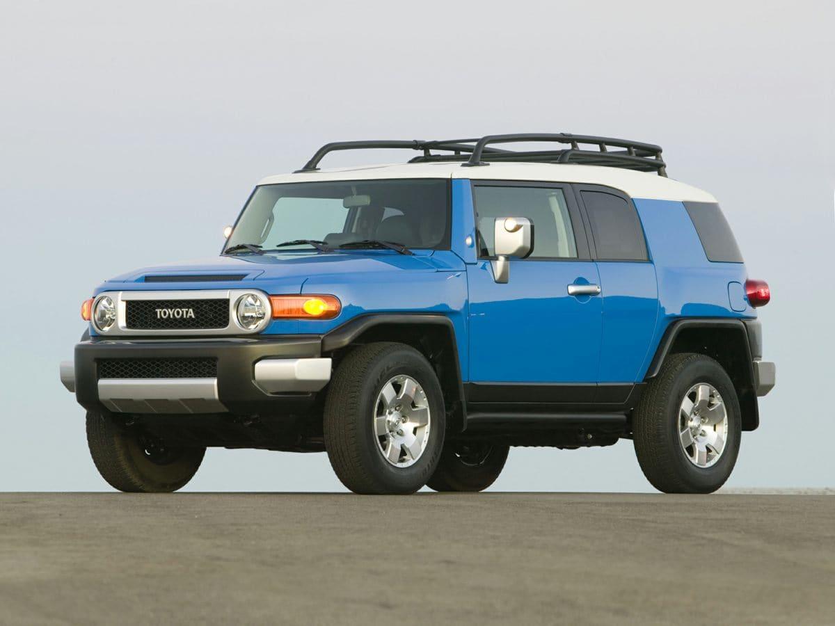 2014 Toyota FJ Cruiser AT 4WD V6