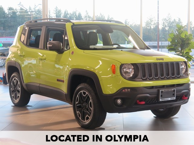 Photo NEW 2017 JEEP RENEGADE TRAILHAWK WITH NAVIGATION  4WD