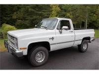 1987 Chevrolet K10 Silver