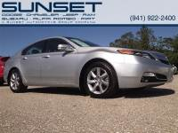 Used 2012 Acura TL Tech Auto Sedan for sale in Sarasota FL