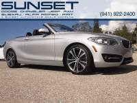 Used 2016 BMW 2 Series 228i Convertible for sale in Sarasota FL