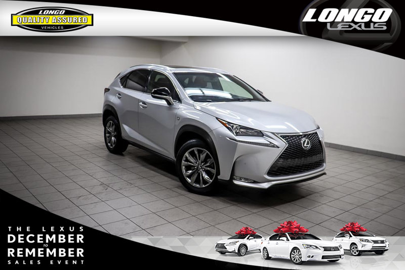 Pre-Owned 2015 Lexus NX 200t FWD 4dr F Sport Front Wheel Drive SUV