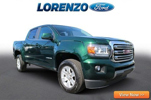 Photo Pre-Owned 2016 GMC Canyon Crew Cab SLE Convenience RWD Crew Cab Pickup