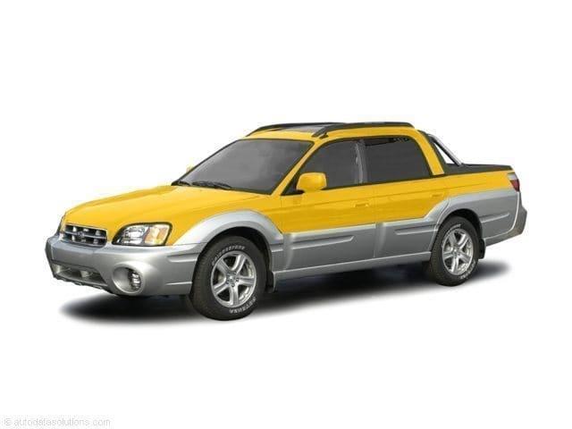 Photo Used 2003 Subaru Baja For Sale in Fresno, CA  Stock 36103247