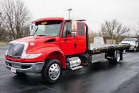2018 International 4300 Ext. Cab Rollback Wrecker Flatbed