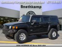 Used 2006 HUMMER H3 SUV Base for sale near Detroit