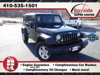 2013 Jeep Wrangler Unlimited Unlimited Sport SUV 4x4