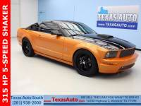 2008 Ford Mustang Rear-wheel Drive