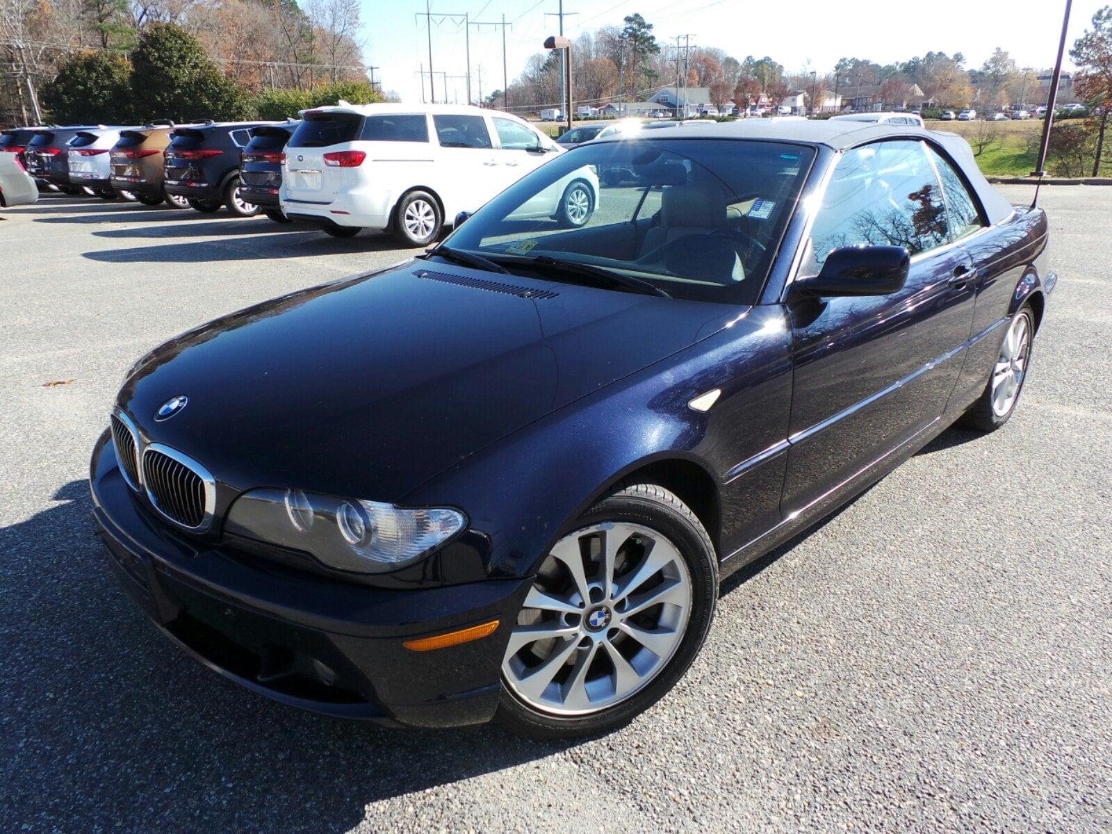 Photo Used 2005 BMW 330Ci Convertible Williamsburg, VA