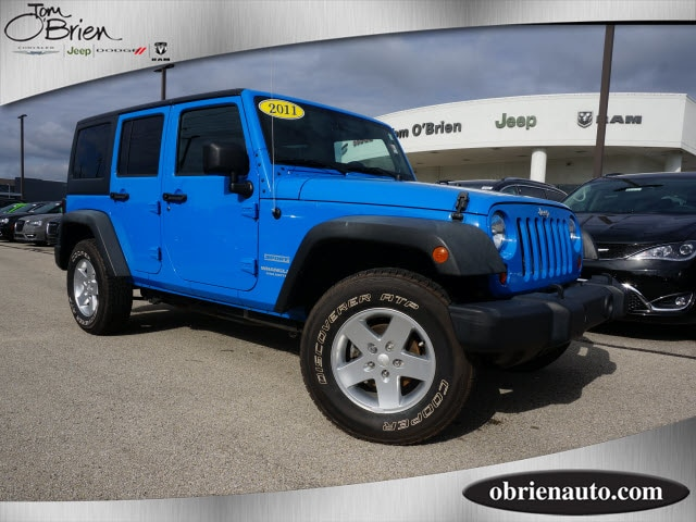 Photo 2011 Jeep Wrangler Unlimited Sport SUV For Sale  Greenwood IN