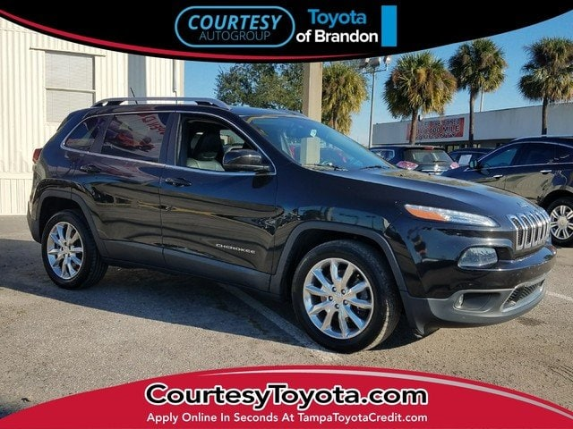 Photo Pre-Owned 2014 Jeep Cherokee Limited FWD SUV near Tampa FL
