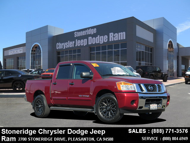Photo Used 2015 Nissan Titan Truck Crew Cab For Sale in Dublin CA
