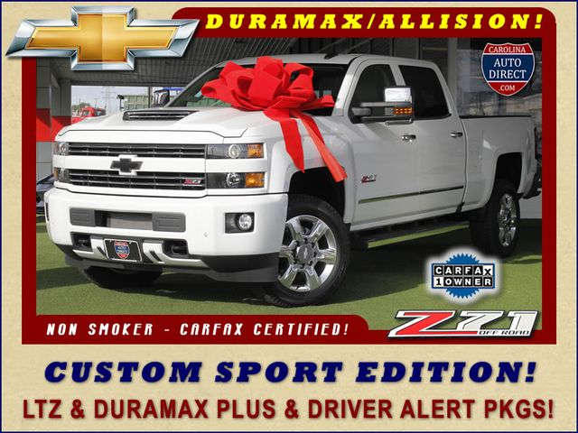 Photo 2017 Chevrolet Silverado 2500HD LTZ PLUS Crew Cab 4x4 Z71 - CUSTOM SPORT EDITION
