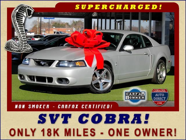 Photo 2003 Ford Mustang SVT Cobra - ONLY 18K MILES - ONE OWNER