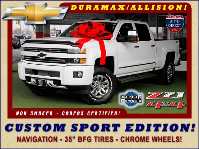 Photo 2016 Chevrolet Silverado 3500HD LT Crew Cab 4x4 Z71 - CUSTOM SPORT EDITION