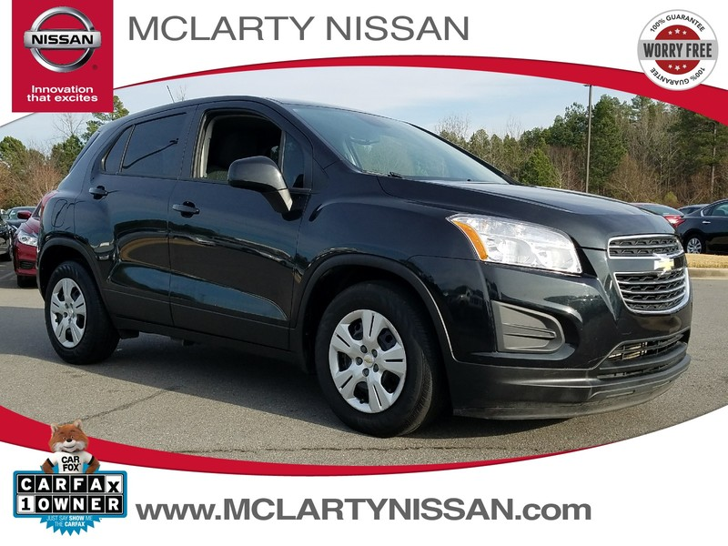 Photo Pre-Owned 2015 CHEVROLET TRAX FWD 4DR LS W1LS Front Wheel Drive Sport Utility Vehicle