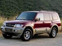 2001 Mitsubishi Montero Limited SUV