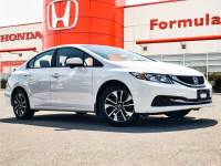 Certified Pre-Owned 2013 Honda Civic $100 PETROCAN CARD YEAR END SPECIAL! FWD Car
