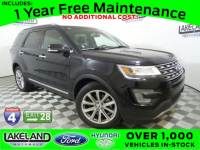 Certified 2017 Ford EXPLORER LIMI SUV