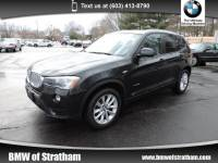 2015 BMW X3 xDrive28i NAVIGATION COLD WEATHER PREMIUM LIGHTING SAV All-wheel Drive