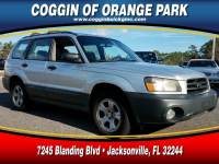 Pre-Owned 2004 Subaru Forester 2.5 X SUV in Jacksonville FL