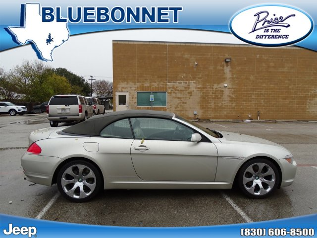 Photo 2004 BMW 6 Series 645Ci Convertible in New Braunfels