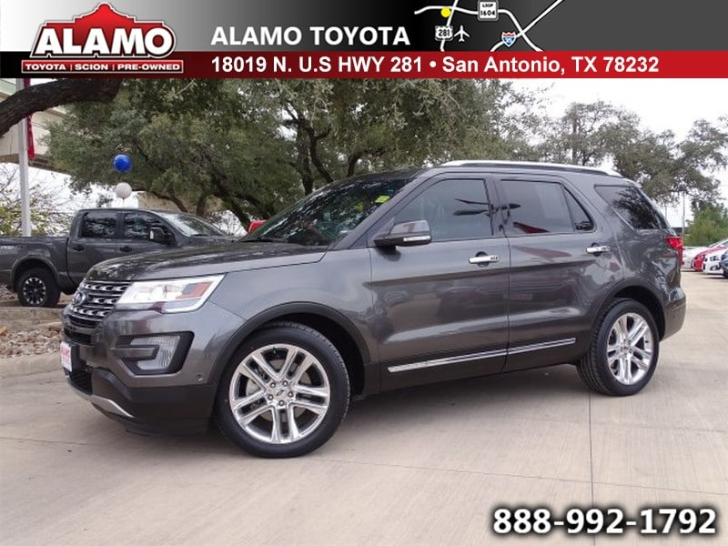 Photo Used 2016 Ford Explorer For Sale in San Antonio TX  1FM5K7F81GGB61492