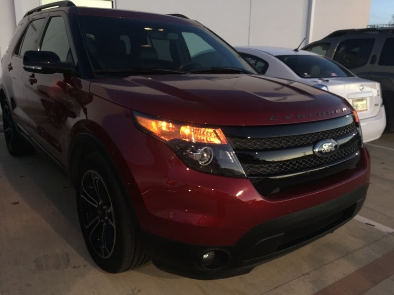 Photo Used 2015 Ford Explorer For Sale in San Antonio TX  1FM5K8GT8FGB15732